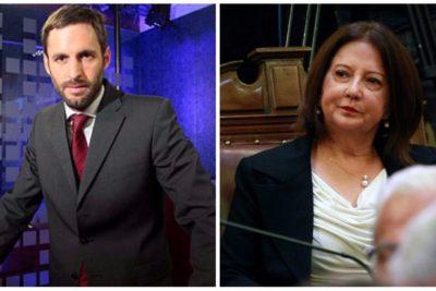Soledad Alvear pidió debate Guillier – Goic, pero nunca vio venir la respuesta de periodista de CNN