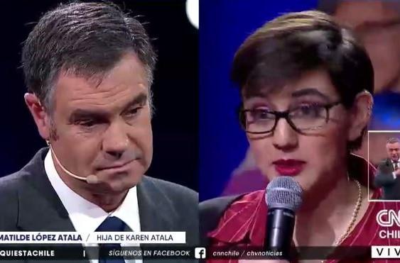 """Hija de Karen Atala repasa a Ossandón: """"Hoy fui al circo y hablé con el payaso"""""""