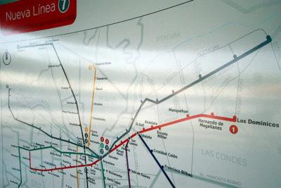 Pequeño detalle: las razones que tuvieron para elegir el color gris en la nueva Línea 7 del Metro