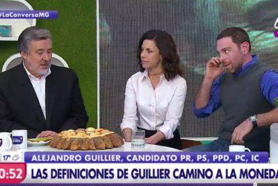 El incómodo momento que José Antonio Neme le hizo pasar a Guiller en vivo y en directo