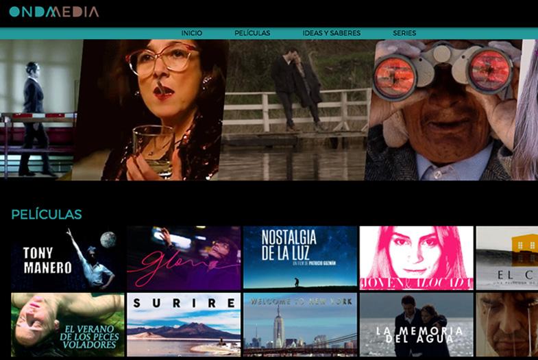 """Lanzan el """"Netflix"""" chileno para ver películas gratis"""