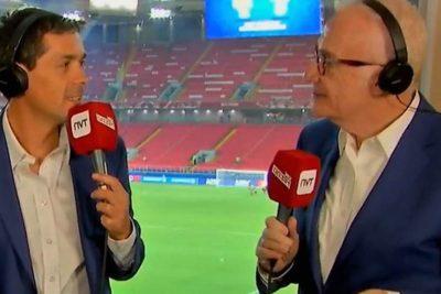 AUDIO |Con chuchada en vivo: Carcuro le dijo a la FIFA lo que todos queríamos decir por el VAR
