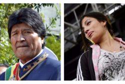 El saludo de Evo Morales a Anita Tijoux en medio de nuevas acusaciones contra Chile