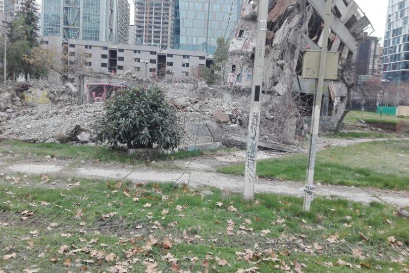 FOTOS   Villa San Luis fue demolida a solo días de votación que podría declararla Monumento Histórico