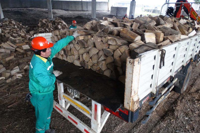 Comuna de Nacimiento apuesta por la leña seca para disminuir la contaminación ambiental