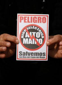 """AES Gener reconoce que """"default técnico"""" pone en duda continuidad de proyecto Alto Maipo"""