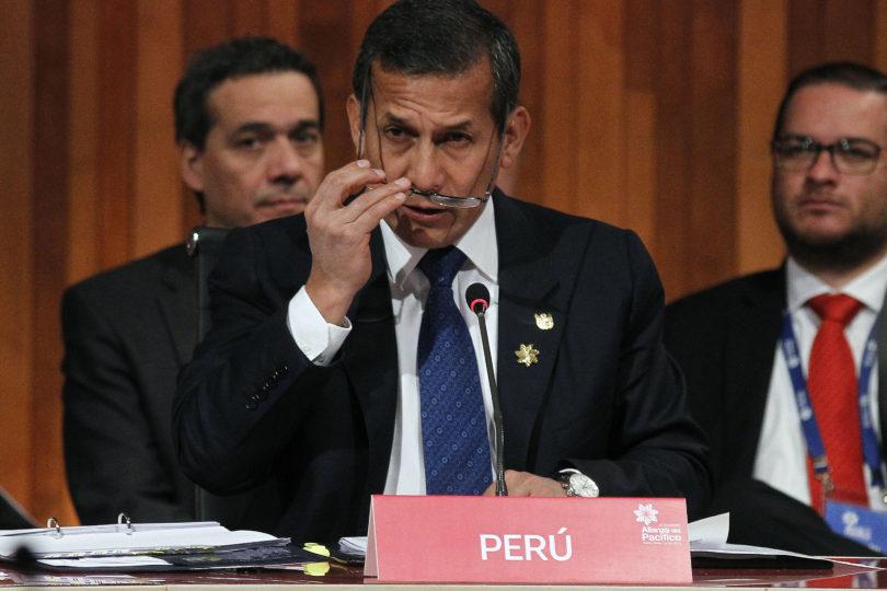 Fiscalía peruana pide prisión preventiva para Ollanta Humala