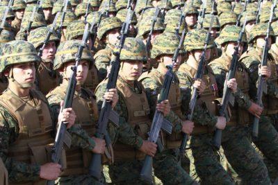 Fuerzas Armadas ha recontratado a más de mil ex uniformados jubilados