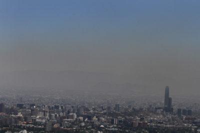 Intendencia decreta alerta ambiental en la Región Metropolitana