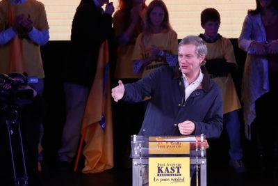 """A la caza del """"ossandonismo"""": J. A. Kast inicia segunda etapa de campaña y se despide del Congreso"""