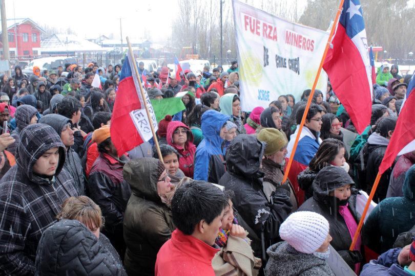 Mineros de Aysén anuncian marcha por fin a labores de rescate