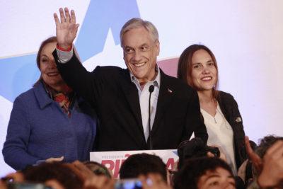 Piñera, Espina y Chadwick se van a Playa del Carmen a preparar segunda parte de la campaña