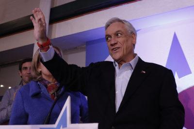 "Amplitud celebra masiva convocatoria de Chile Vamos y ""holgado"" triunfo de Piñera"