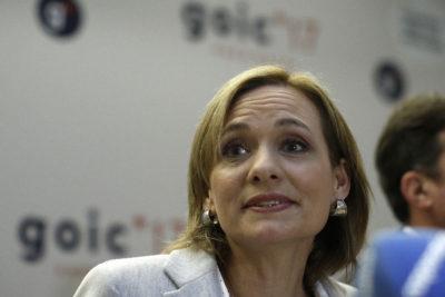 """Carolina Goic invitó a """"todo aquel que crea en una derecha distinta a la de Sebastián Piñera"""""""