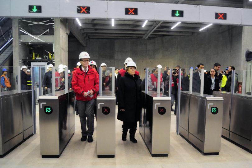 Las novedades que trae la nueva Línea 6 del Metro de Santiago que comenzará a operar en los próximos meses