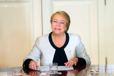 """Presidenta Bachelet e informe Sename: """"La oposición está haciendo una caricatura"""""""