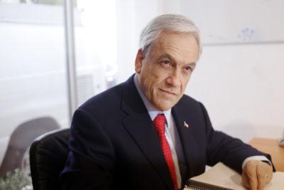 Sebastián Piñera es sobreseído en caso Exalmar