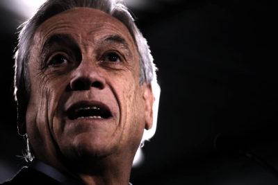 """Piñera pide a Bachelet """"pronunciarse"""" por rechazo a informe del Sename y no """"ocultar graves negligencias"""""""