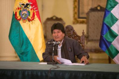 Evo Morales niega que el Gobierno haya realizado gestiones para liberar a los dos carabineros detenidos en Bolivia