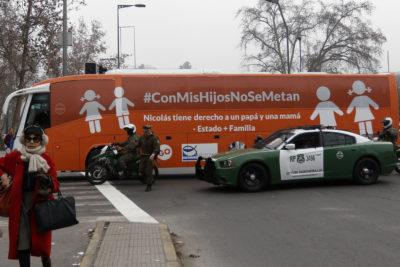 """""""Bus de la Libertad"""" continuará su recorrido por Santiago y visitará otras tres comunas"""