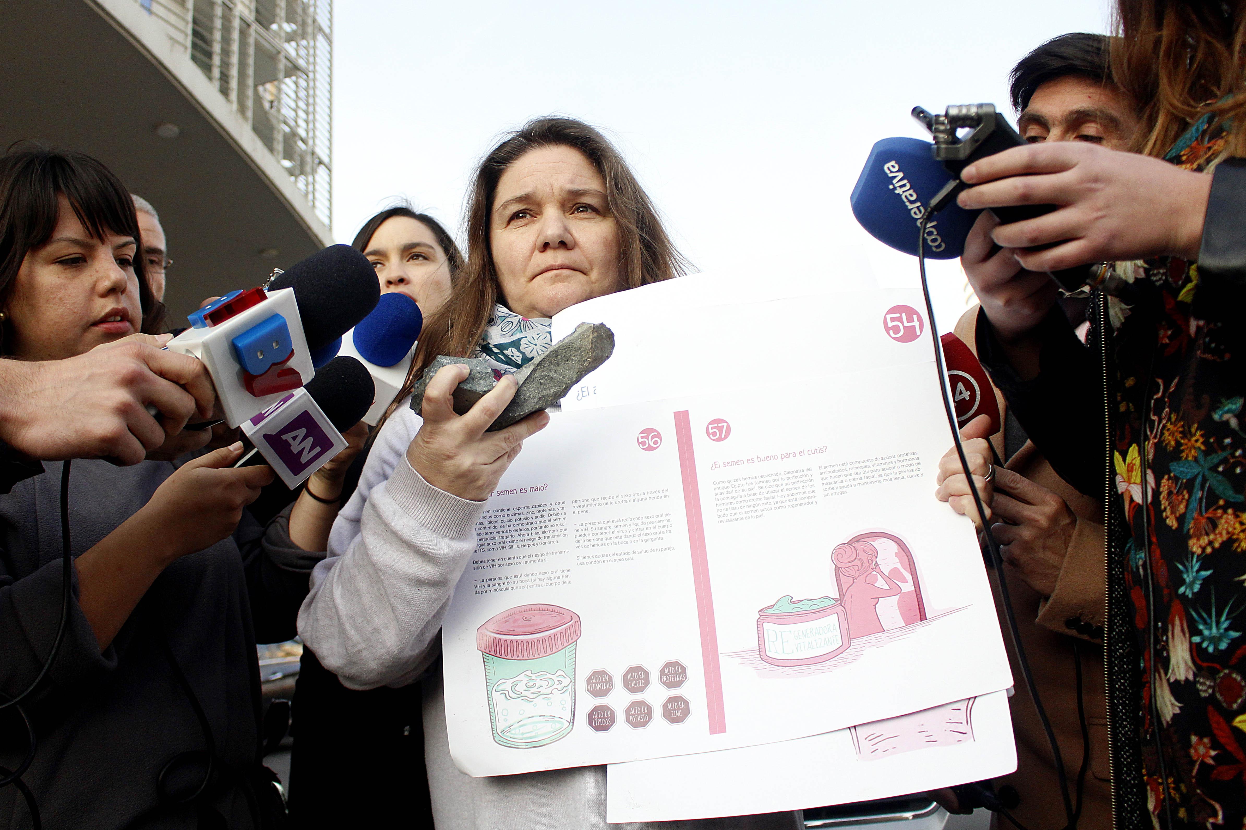 """""""El mito de los manuales de educación sexual que denuncia Marcela Aranda"""""""