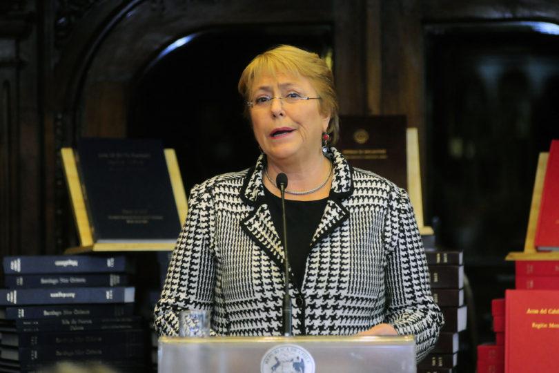 """Bachelet: """"Esperaría que ganara alguien que continúe las transformaciones que se han hecho"""""""