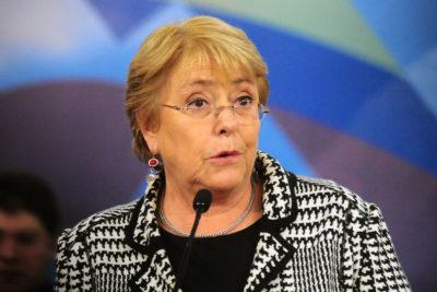 """Bachelet por relación con Bolivia: """"No es posible obligar a dialogar"""""""