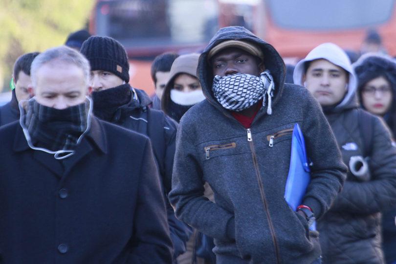 ¿Mucho frío? Temperatura mínima en la Región Metropolitana llegó a los -5,2 ºC