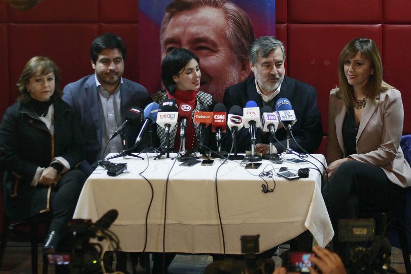 Guillier escoge a tres diputados de la Nueva Mayoría para reforzar vocería de Cariola y da señal a partidos