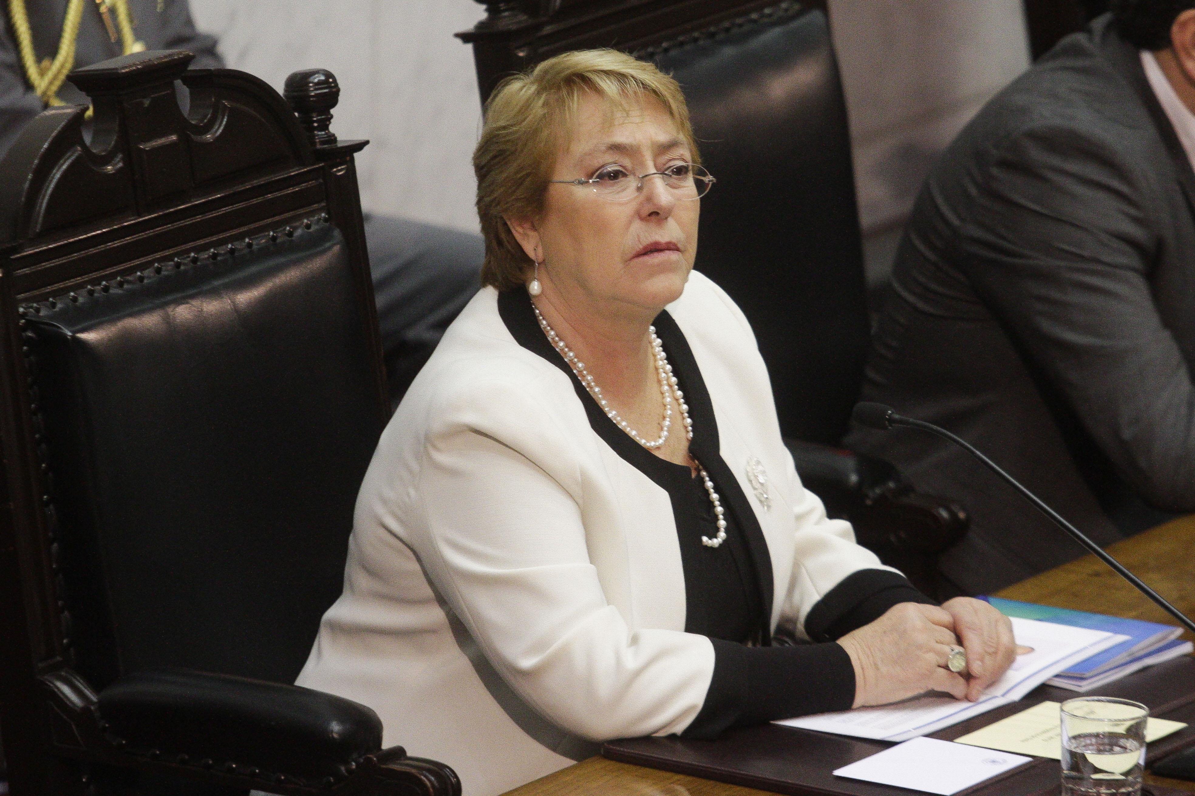 """Bachelet por crisis en Venezuela: """"Estoy tremendamente decepcionada"""""""