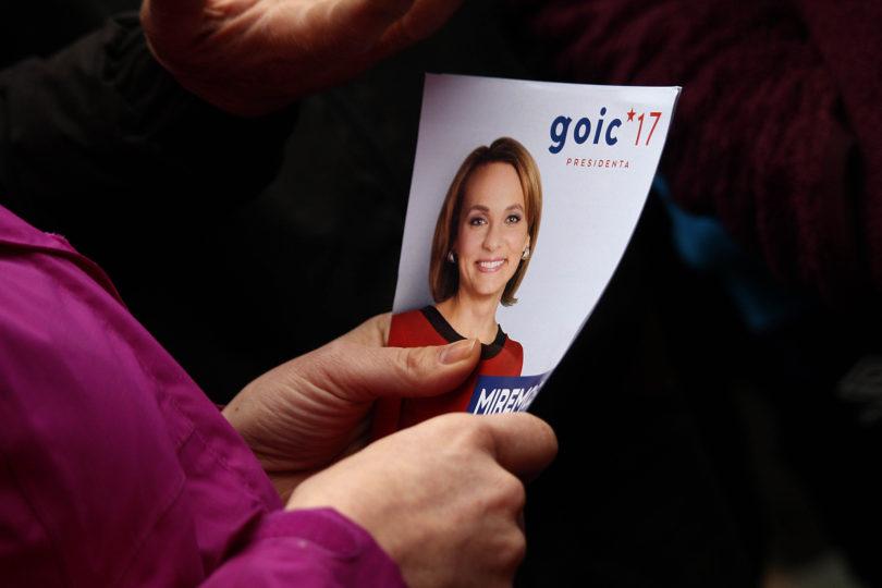 Carolina Goic en terreno: un día en la campaña de la candidata DC