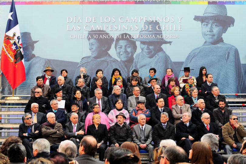 """Presidenta Bachelet a 50 años de la Reforma Agraria: """"Es la transformación social más importante del siglo XX"""""""