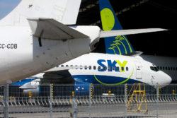 Avión SKY que despegó desde Santiago realiza aterrizaje de emergencia en Valparaíso