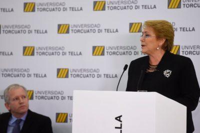 """Presidenta Bachelet: """"El 80% está a favor de la despenalización del aborto y la oposición vota en contra"""""""