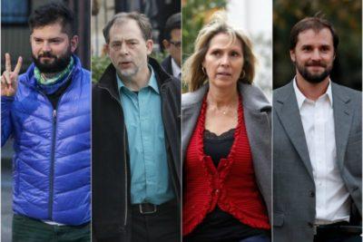Boric, Girardi, Pérez y Bellollio debaten sobre elecciones 2017 en la UDLA