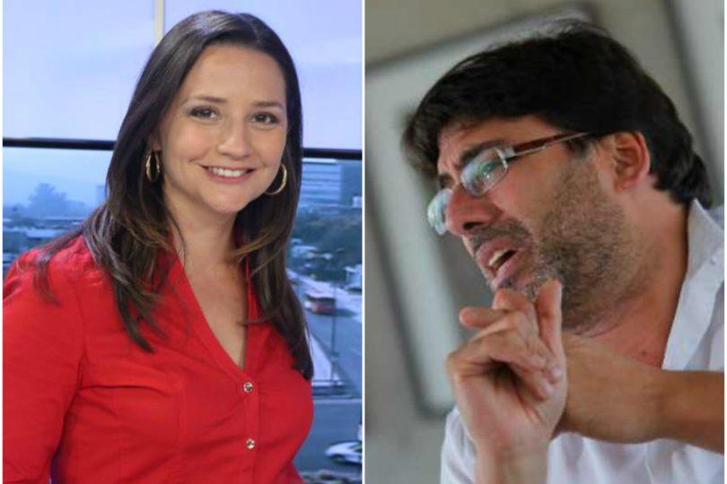 """Guerra tuitera entre Andrea Aristegui y Daniel Jadue: alcalde acusa """"encerrona"""" en vivo y faltas a la ética"""