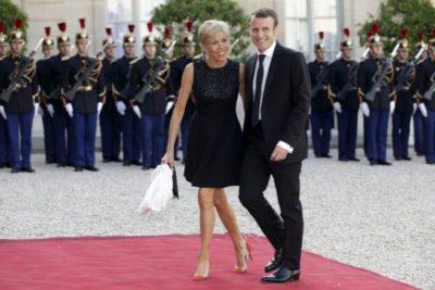 FOTOS   La impensada polémica generada en Europa por las minifaldas de Brigitte Macron
