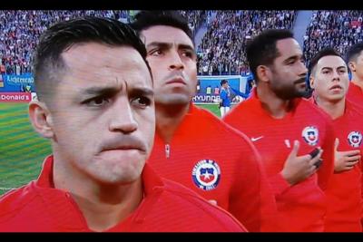 VIDEO |Alemanes no pudieron silenciar el himno de Chile en la final de Copa Confederaciones