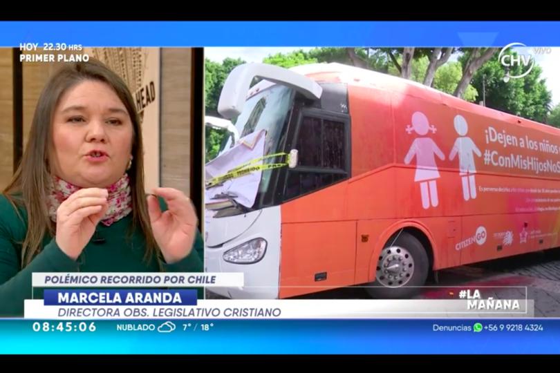 """Las frases más polémicas de la vocera del """"Bus de la Libertad"""""""