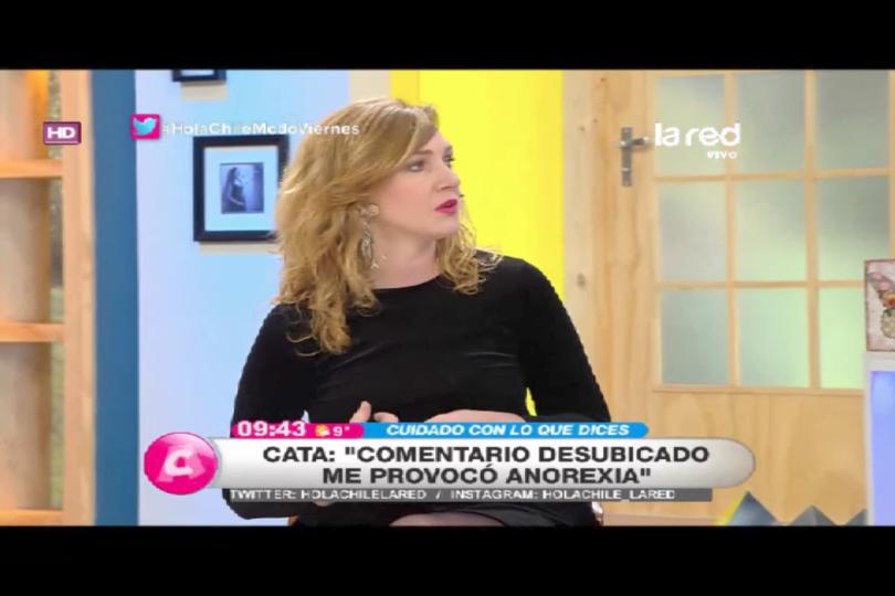 VIDEO   Ex actriz de Canal 13 reveló el desconocido episodio que gatilló sus trastornos alimenticios