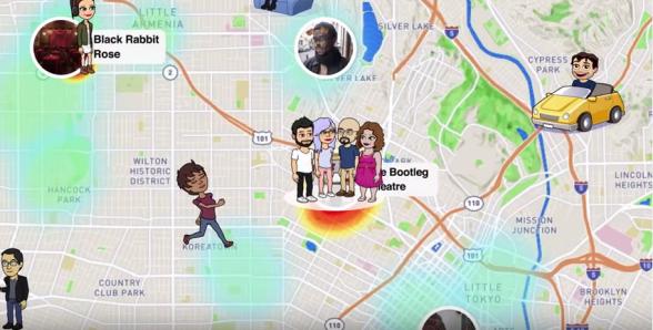 Hasta los jóvenes temen los alcances del controversial mapa de Snapchat