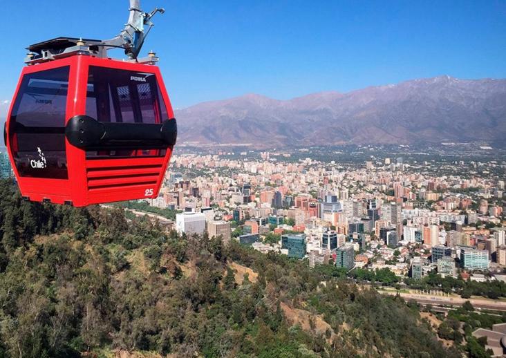 """Teleférico de Santiago también se sumó a lista de """"mejores amigos"""" de Enel"""