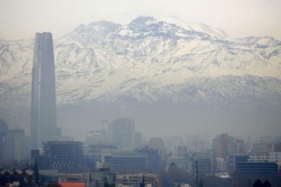 Otro día más: alerta ambiental en Santiago por malas condiciones de ventilación