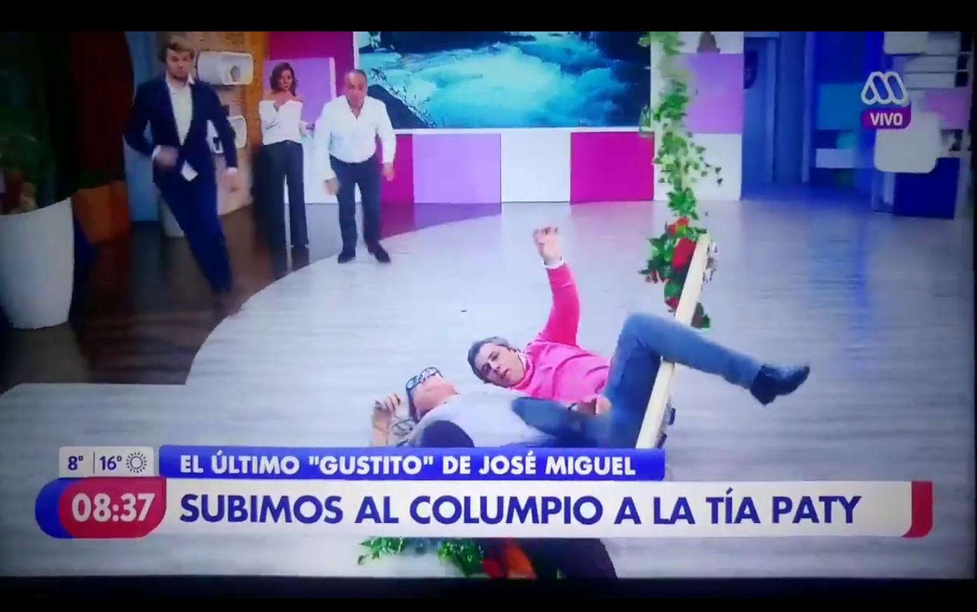 VIDEO |Patricia Maldonado se descontrola tras ridículo blooper en plena transmisión