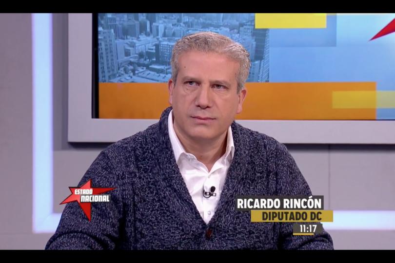"""El recado de Rincón a la DC por candidatura de Goic: """"Lo lógico habría sido ir a primarias"""""""