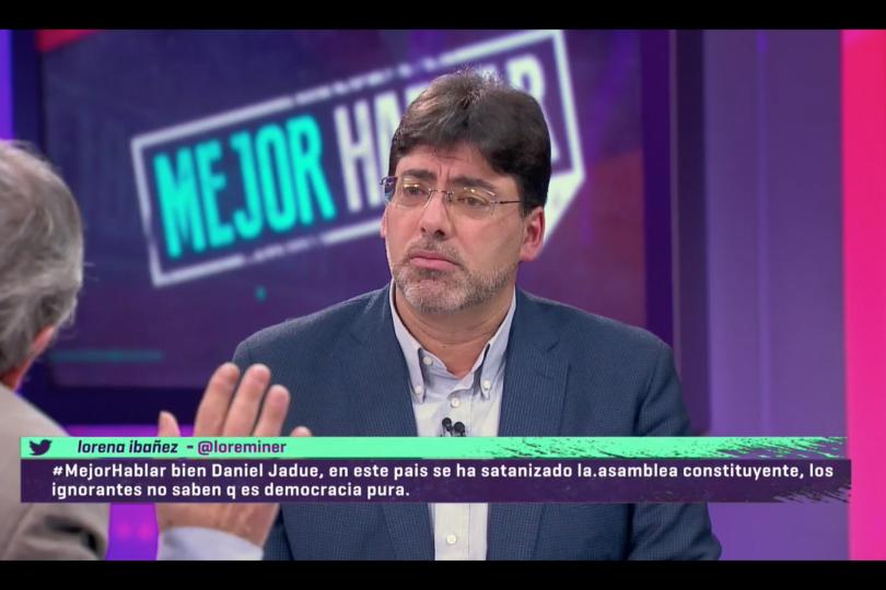 VIDEO |Alcalde Jadue se puso a hablar de Venezuela en TVN y gatilló round de antología