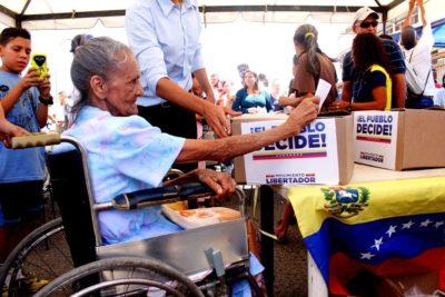 Plebiscito en Venezuela: 98.4% rechazó la Asamblea Constituyente de Maduro