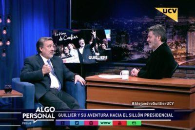 Alejandro Guillier y la teoría de conspiración contra su candidatura presidencial