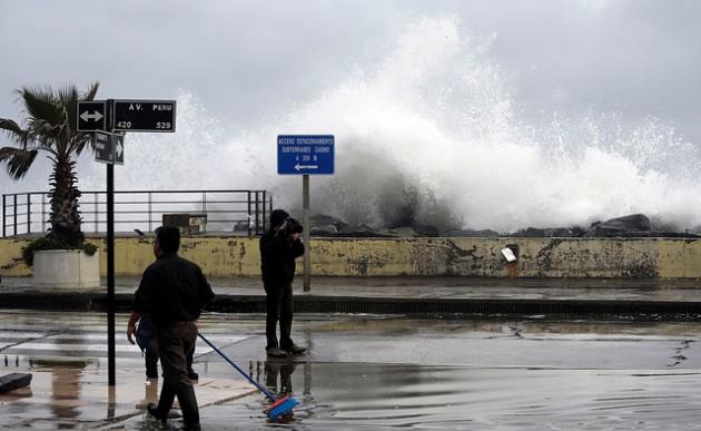 Meteorología alerta de fuertes marejadas entre Arica y Juan Fernández