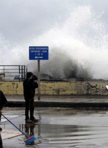 Armada adviertenuevas marejadas en todo el país este fin de semana